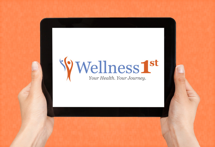 Wellness1st original logo design